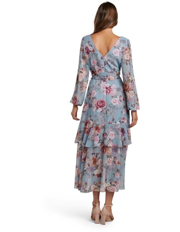 Fleur Long Sleeve Wrap Dress image 4
