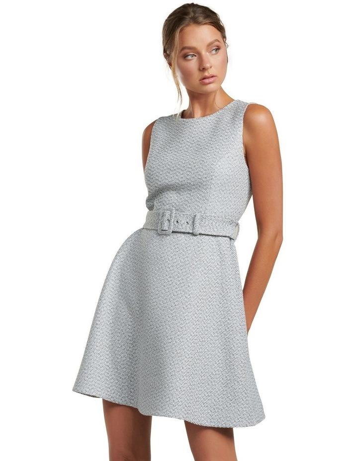 Brenda Belted Boucle Dress image 1