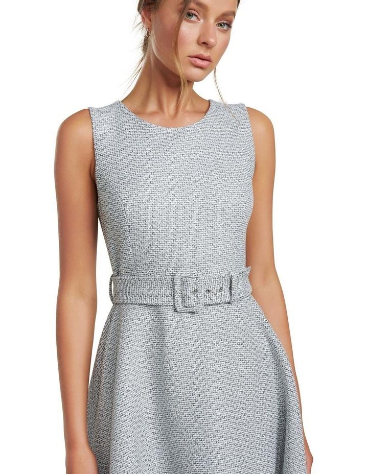 Brenda Belted Boucle Dress image 2