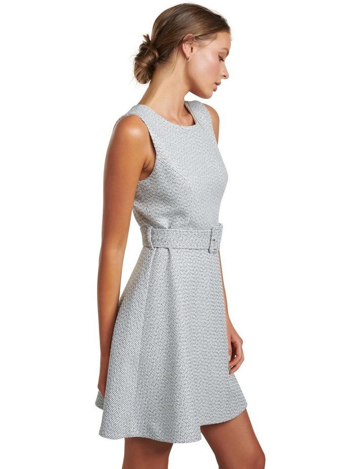 Brenda Belted Boucle Dress image 3