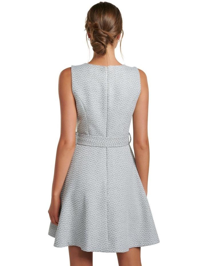 Brenda Belted Boucle Dress image 4