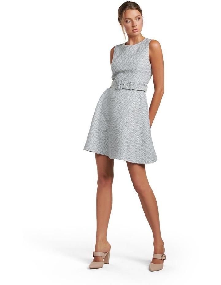 Brenda Belted Boucle Dress image 5