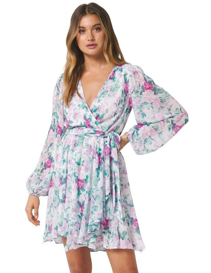 Mariana Wrap Hanky Hem Dress image 1