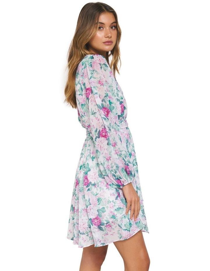 Mariana Wrap Hanky Hem Dress image 2