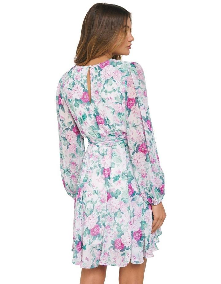 Mariana Wrap Hanky Hem Dress image 3