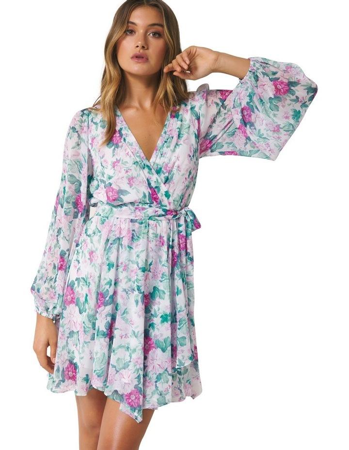 Mariana Wrap Hanky Hem Dress image 4