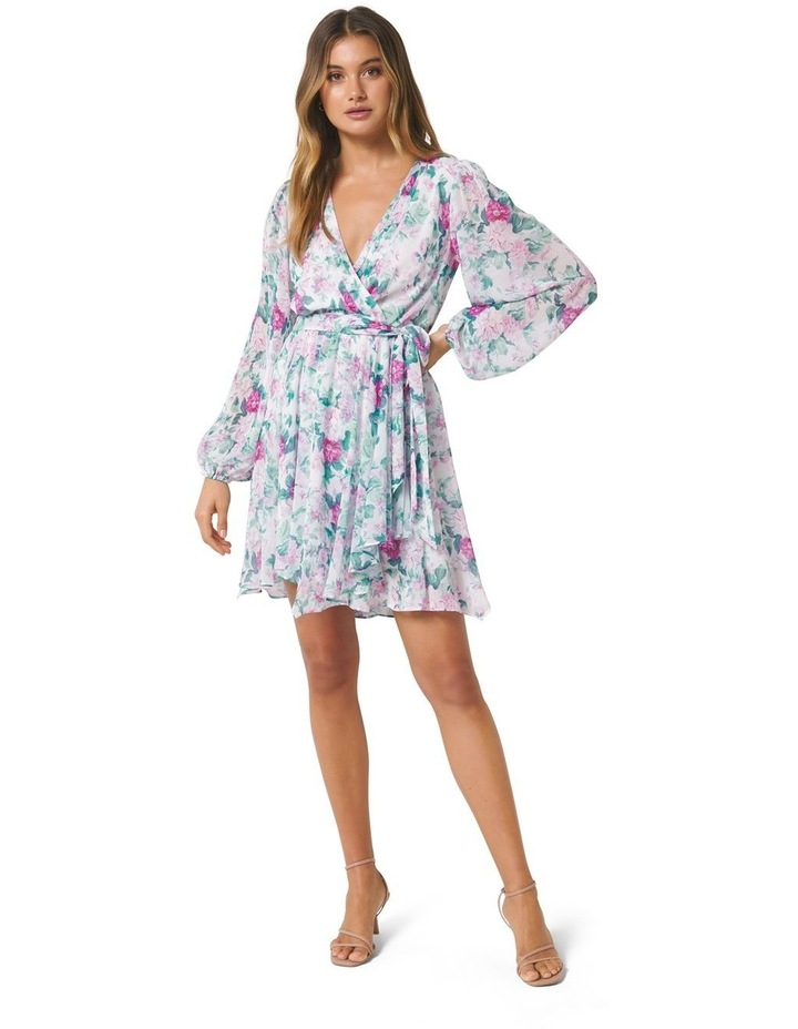 Mariana Wrap Hanky Hem Dress image 5