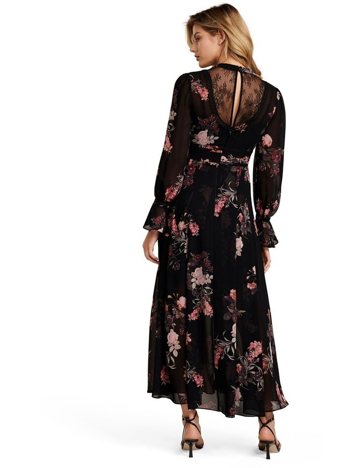 Natalia Petite Lace Trim Maxi Dress image 4