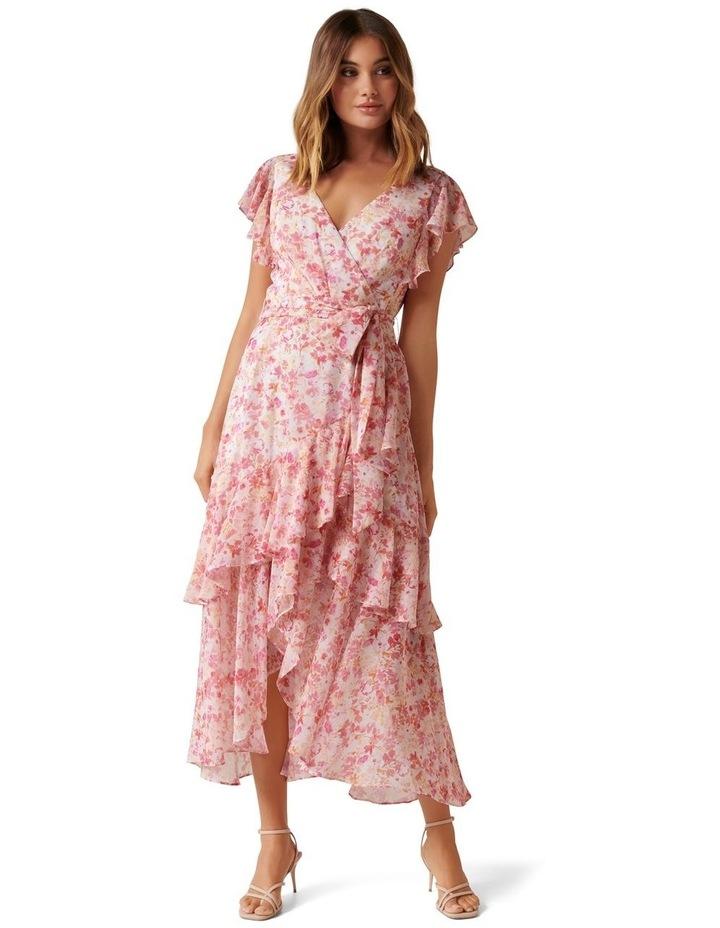 Tiffany Wrap Midi Dress image 1