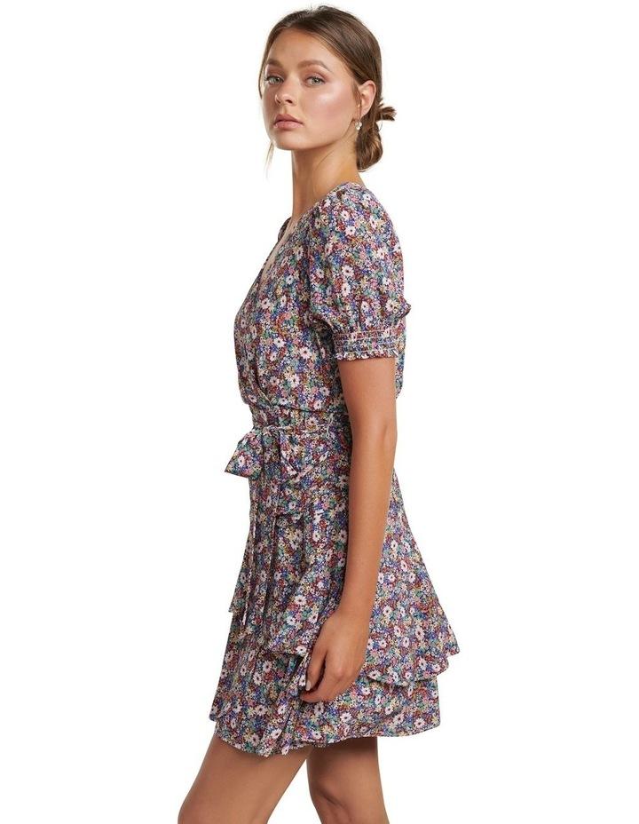 Kayley Puff Sleeve Skater Dress image 3