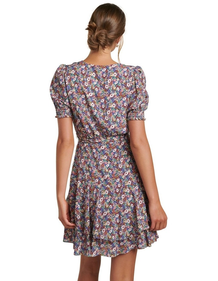 Kayley Puff Sleeve Skater Dress image 4