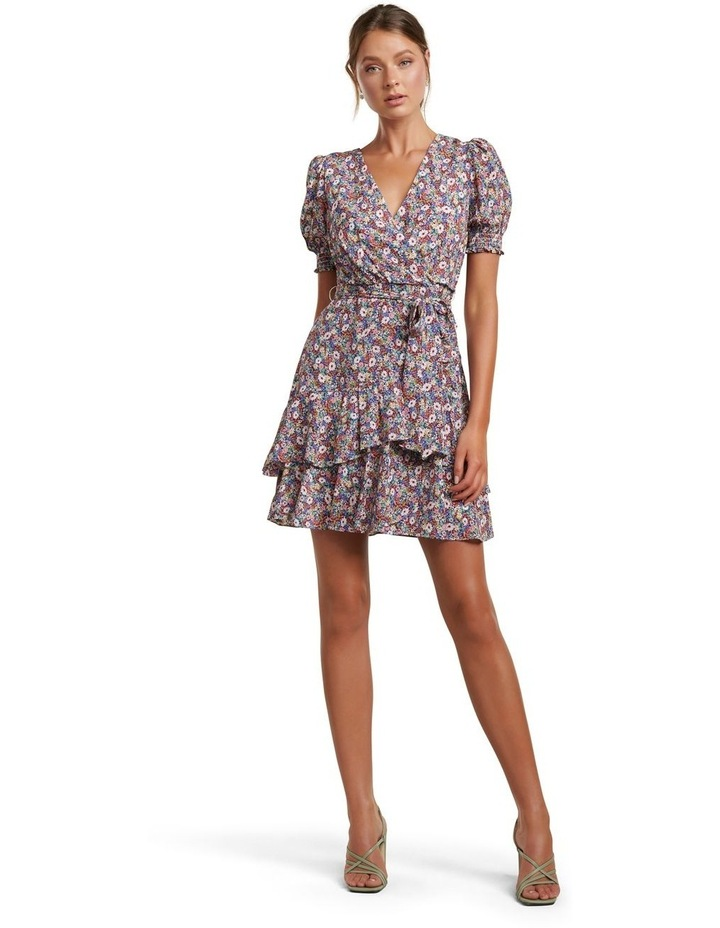 Kayley Puff Sleeve Skater Dress image 5