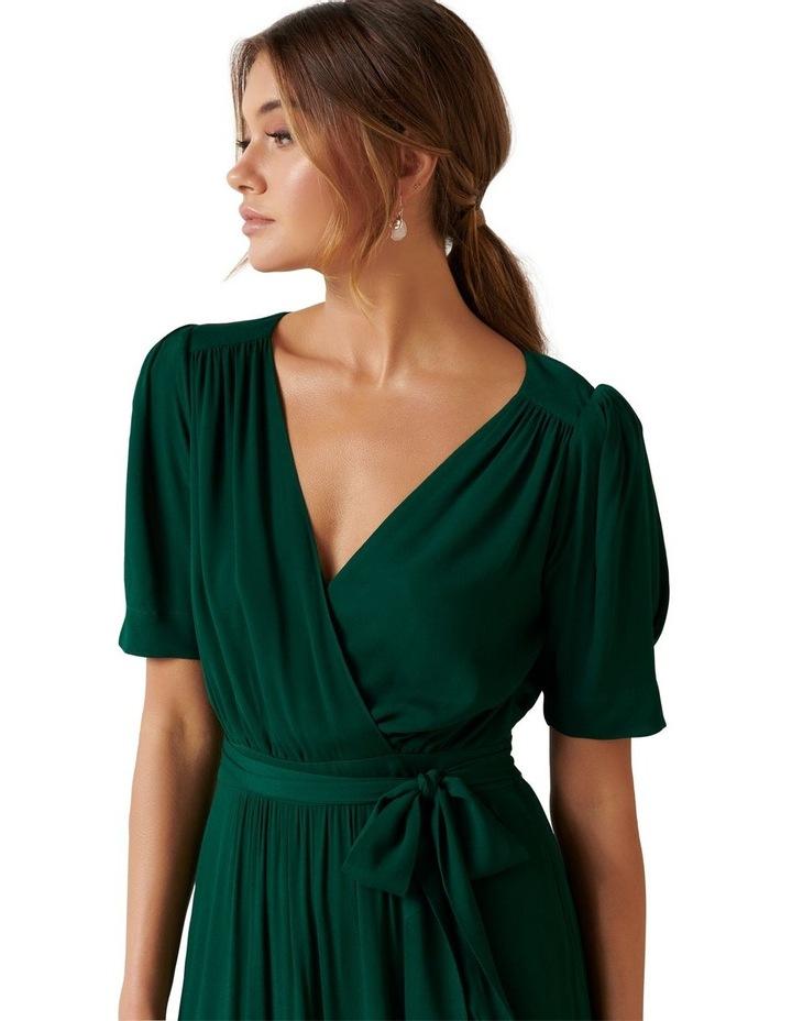 Jordan Puff Sleeve Tiered Midi Dress image 2