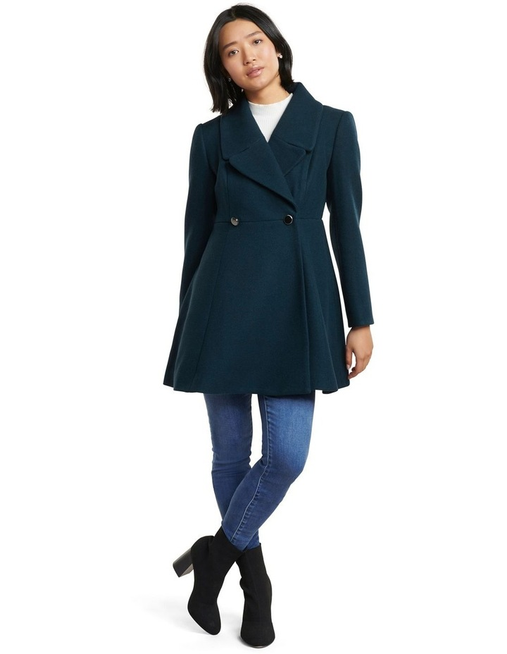 Hannah Petite Fit And Flare Coat image 4