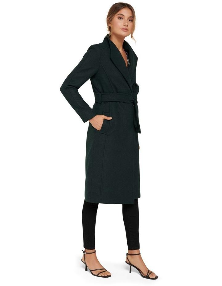 Heather Wrap Coat image 3