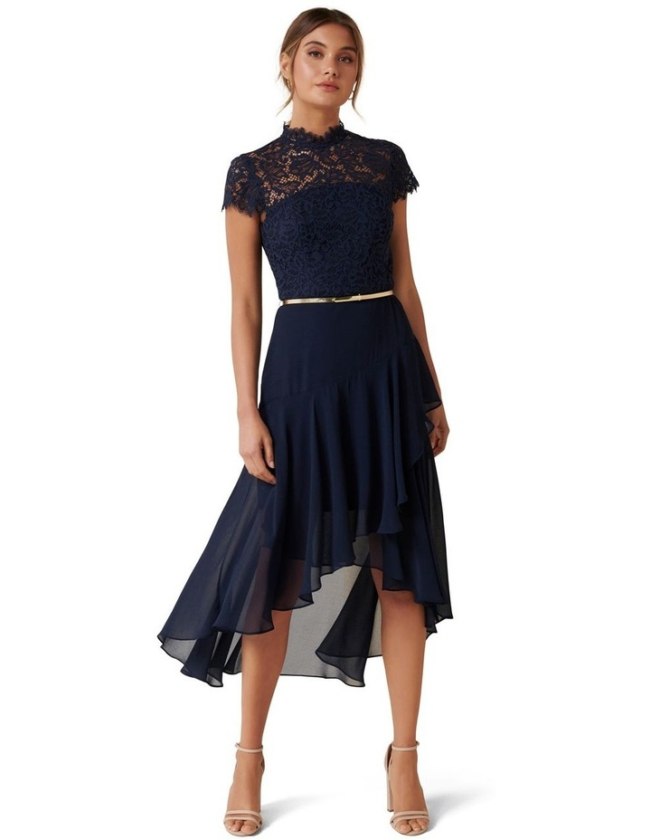 Cleo Lace 2 in 1 Midi Dress image 1