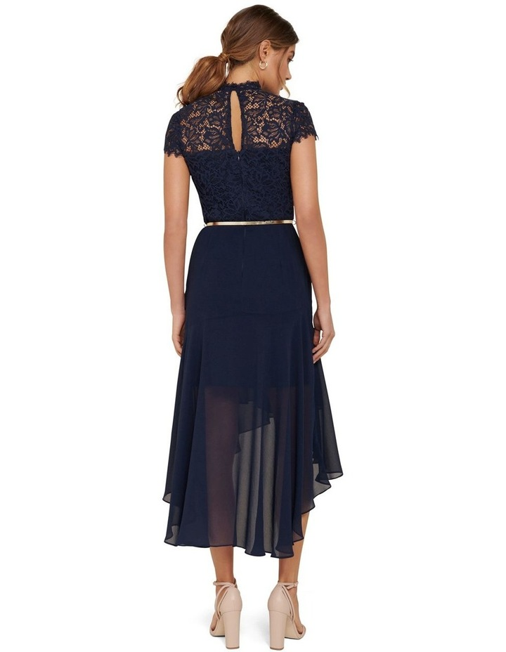 Cleo Lace 2 in 1 Midi Dress image 4