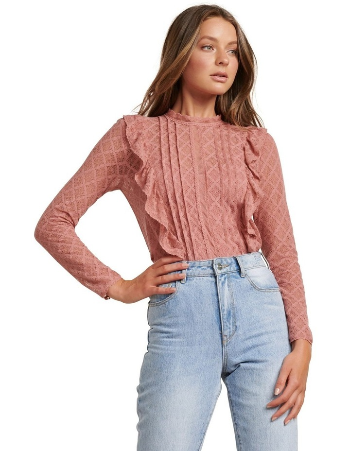 Bailey Pintuck Lace Shell Top image 1