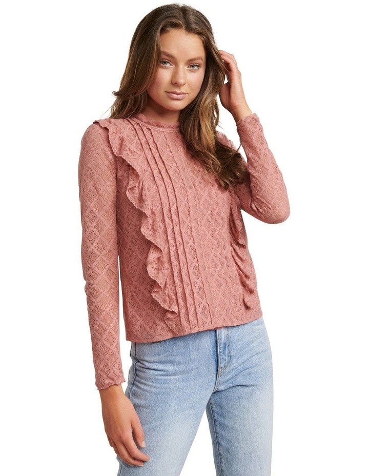 Bailey Pintuck Lace Shell Top image 2