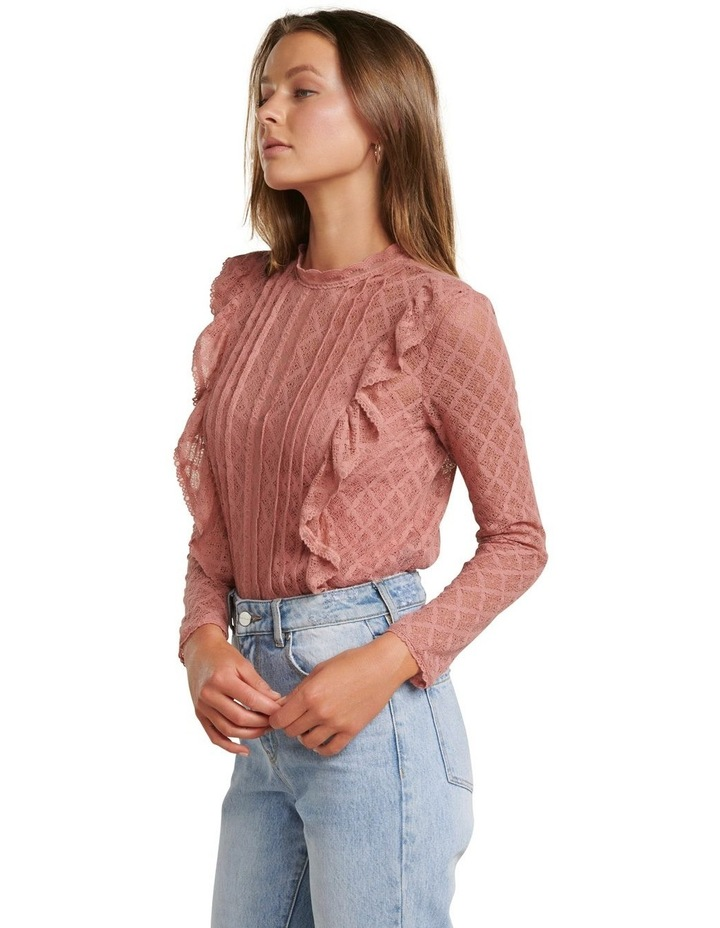 Bailey Pintuck Lace Shell Top image 3