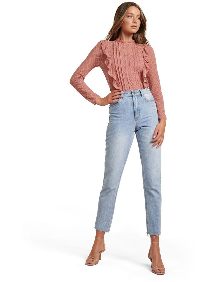 Bailey Pintuck Lace Shell Top image 5