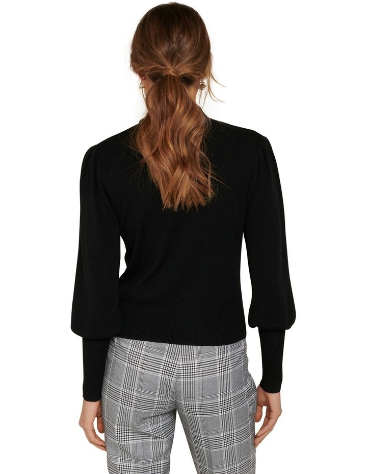 Elsa Tie Neck Wool Jumper image 4