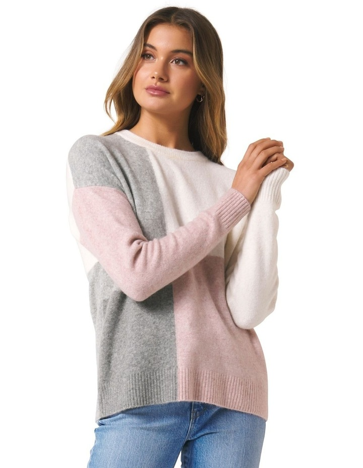 Annie Colour Block Jumper image 1