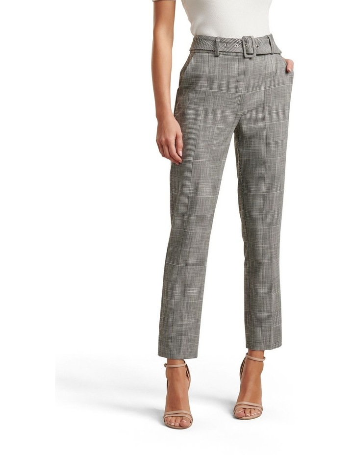 Courtney Check Belted Pants image 2