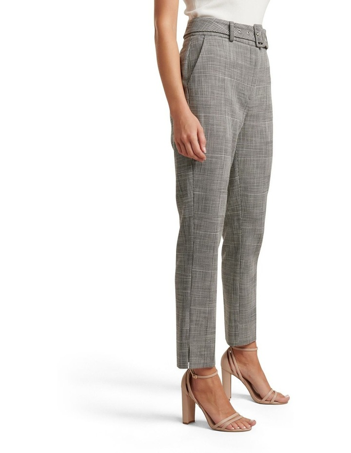 Courtney Check Belted Pants image 3