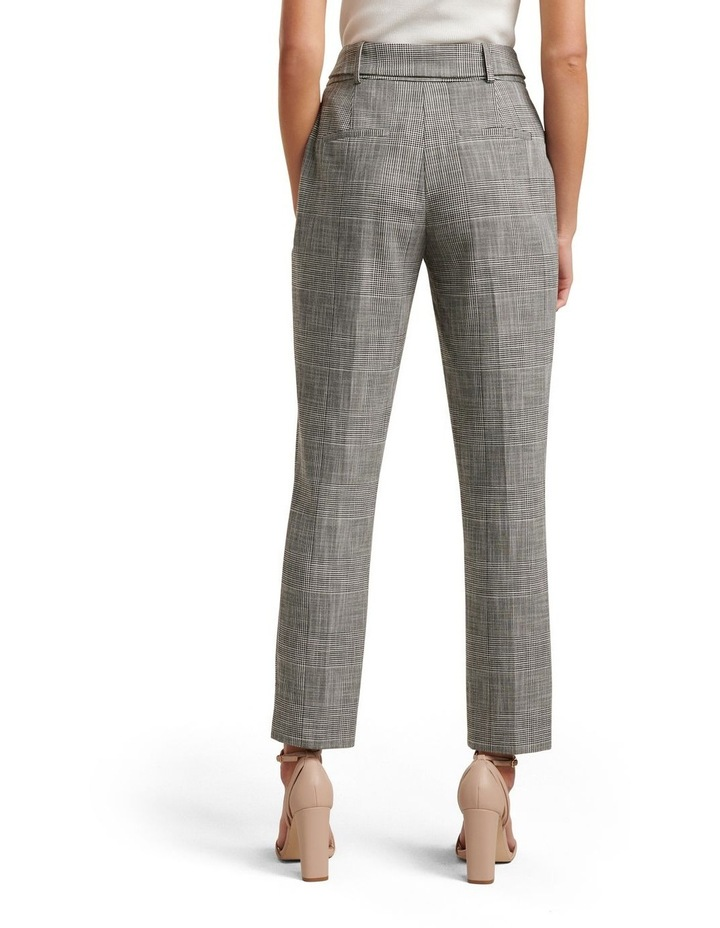 Courtney Check Belted Pants image 4