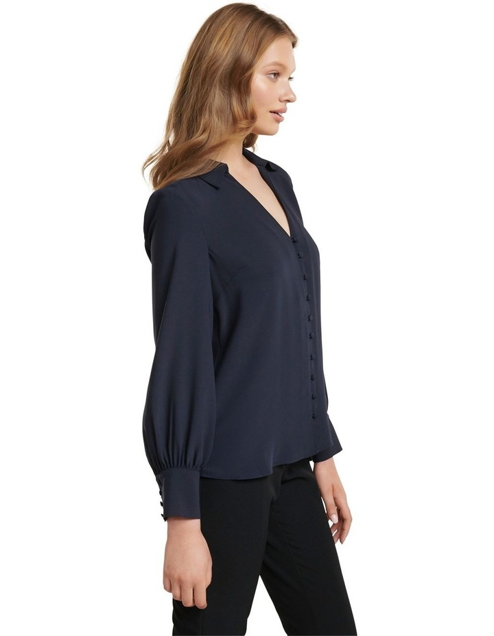 Larissa Button Front Relaxed Blouse image 3