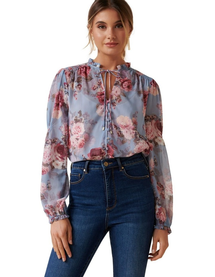 Mischa Shirred Blouse image 2