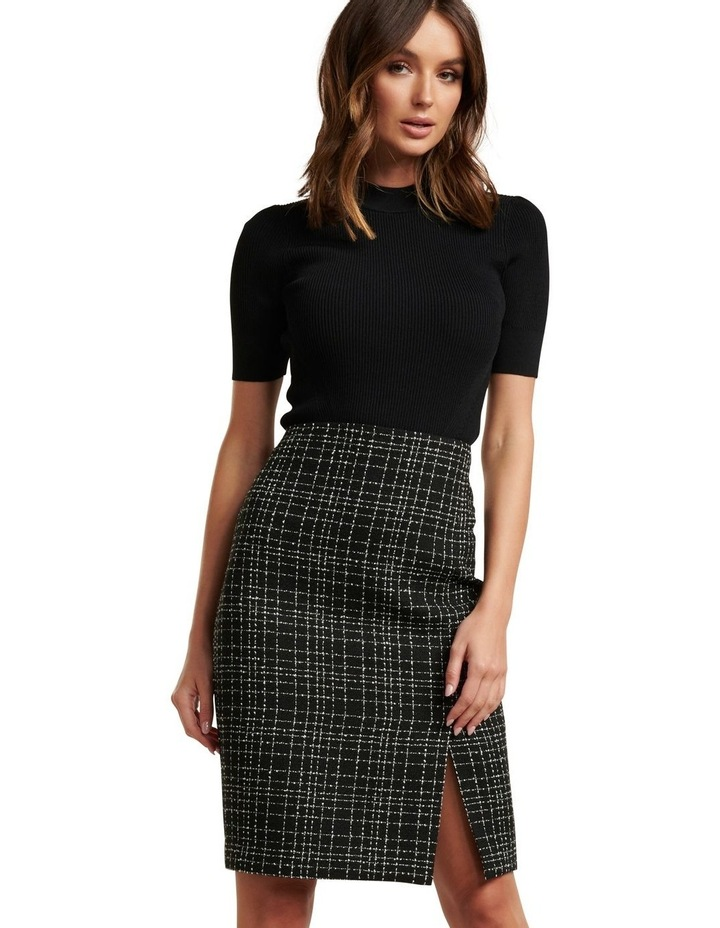 Amber Boucle Pencil Skirt image 1