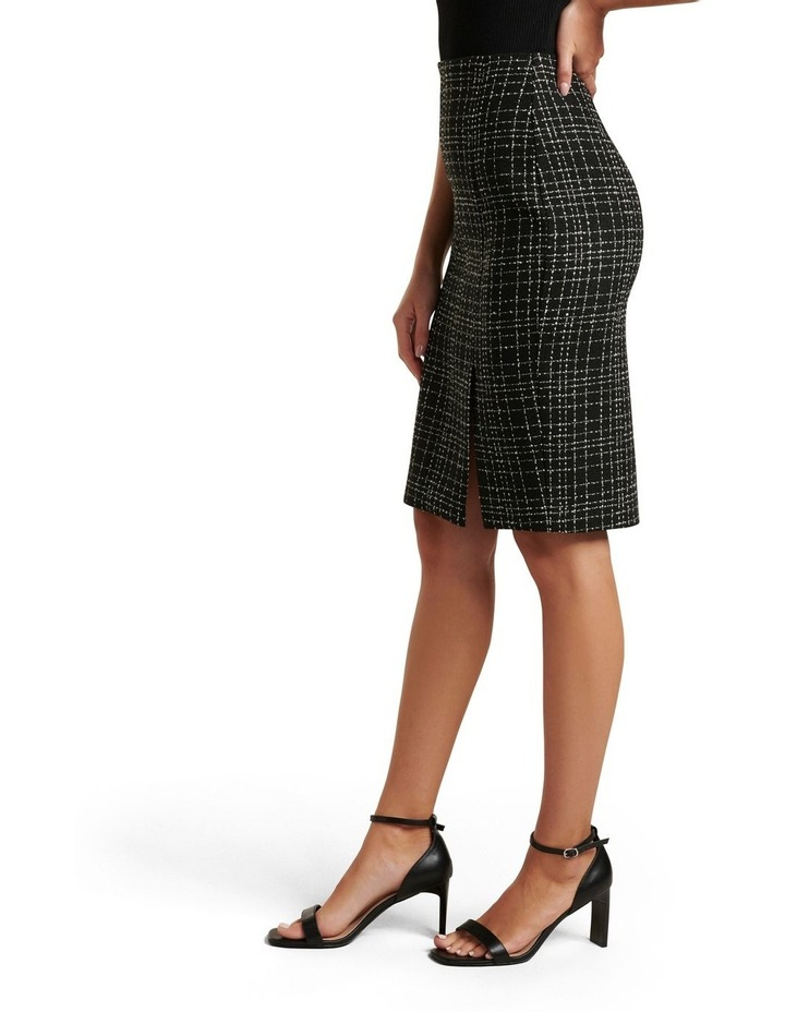 Amber Boucle Pencil Skirt image 2