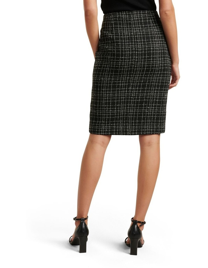 Amber Boucle Pencil Skirt image 3