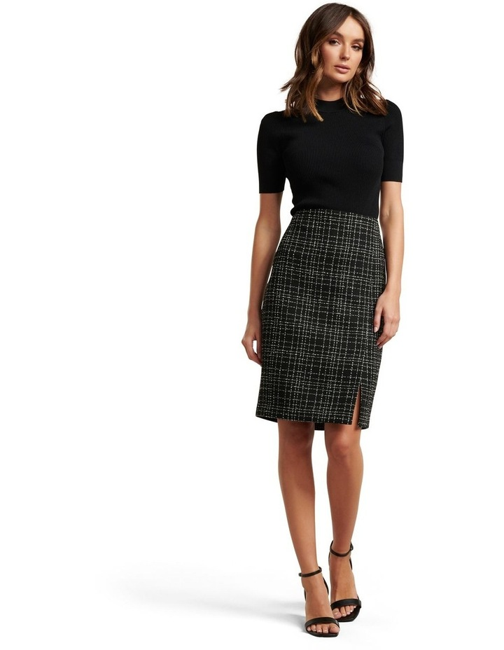 Amber Boucle Pencil Skirt image 5