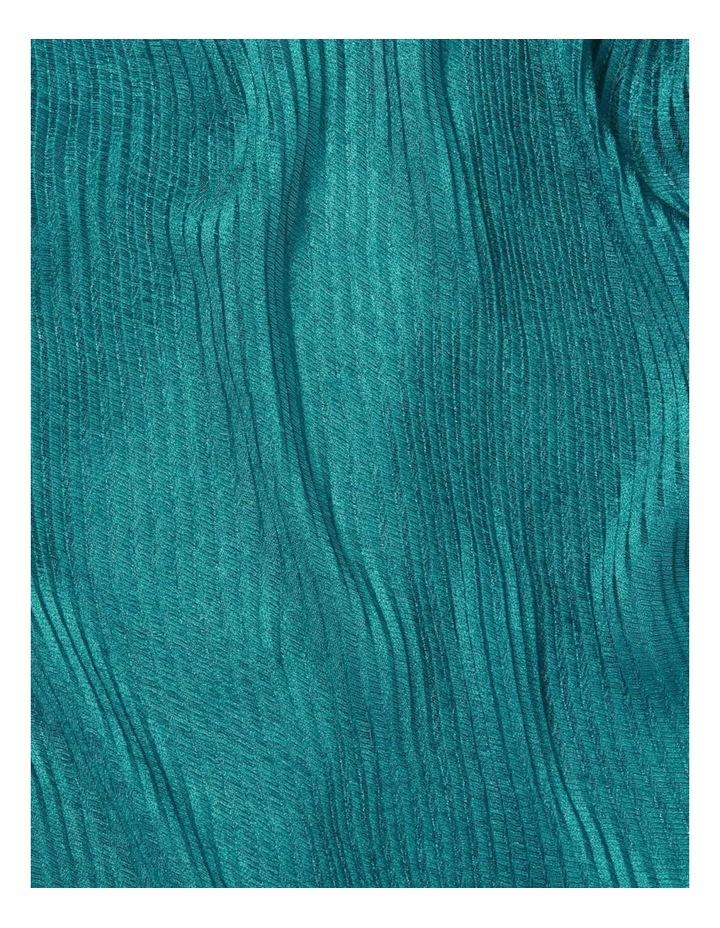 Iris Pleated Metallic Scarf image 2
