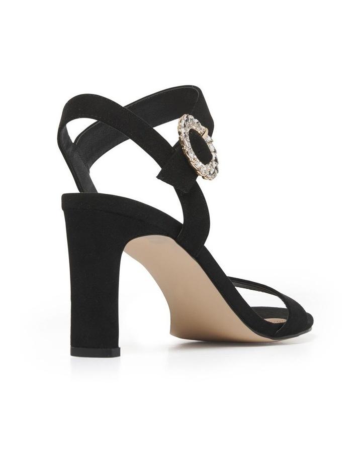 Kate Diamante Buckle Heels image 4