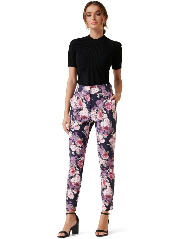Kellie High Waist Printed Pants image 4