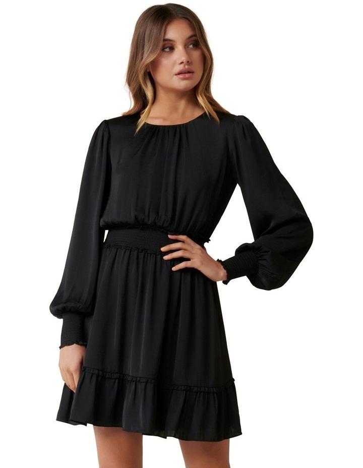 Jessica Long Sleeve Smock Dress image 1