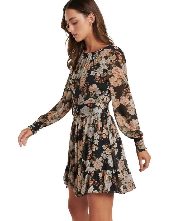 Abigail Belted Skater Dress image 3