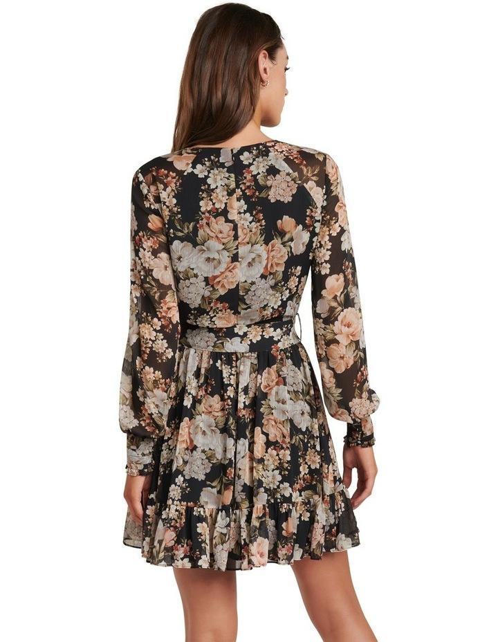 Abigail Belted Skater Dress image 4