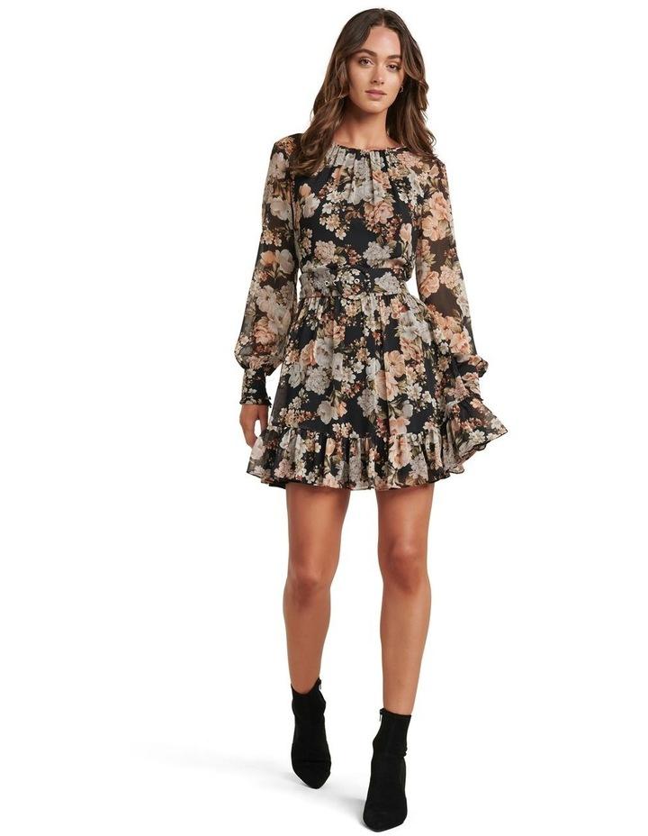 Abigail Belted Skater Dress image 5