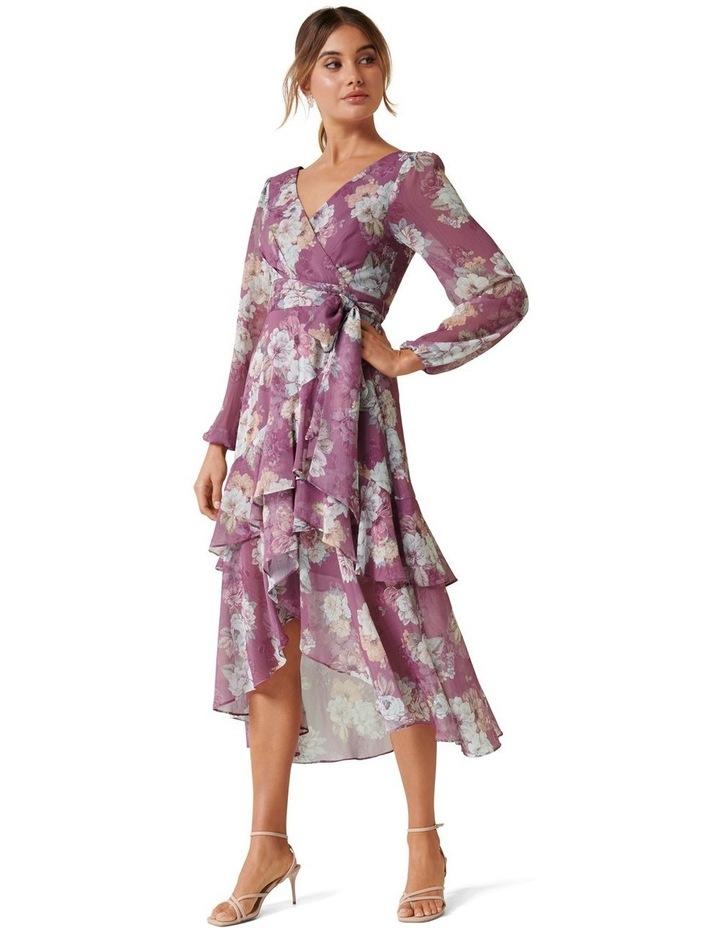 Fleur Petite Long Sleeve Wrap Dress image 1