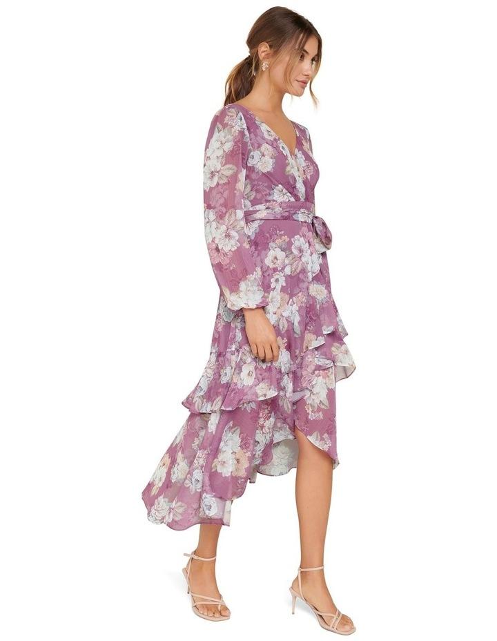 Fleur Petite Long Sleeve Wrap Dress image 2