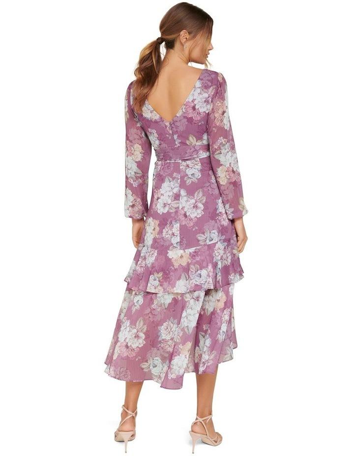 Fleur Petite Long Sleeve Wrap Dress image 3