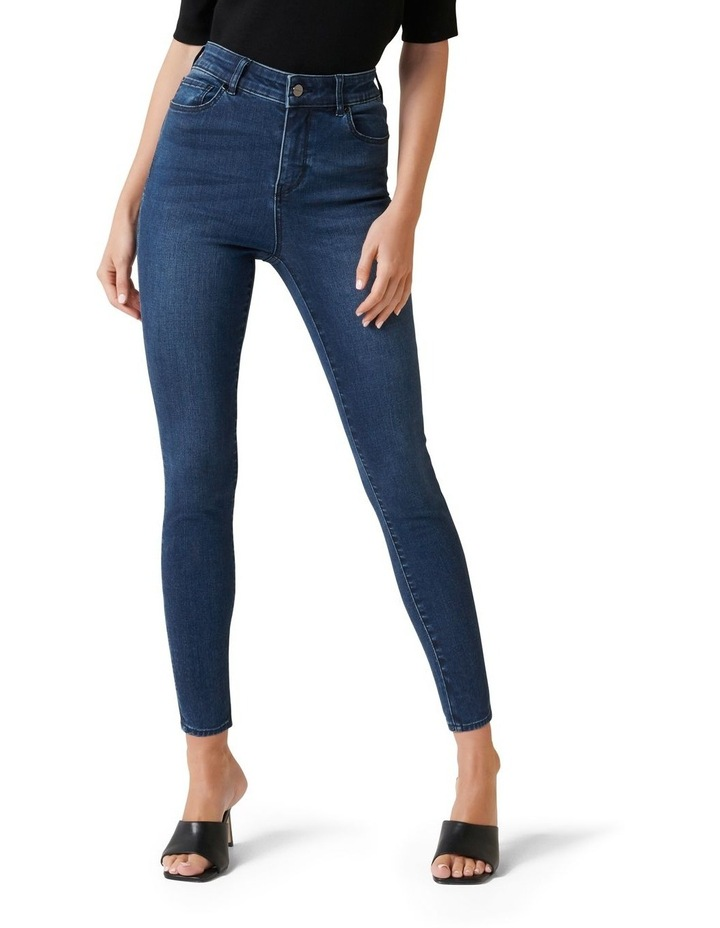 Zoe Mid Rise Ankle Grazer Jean image 1