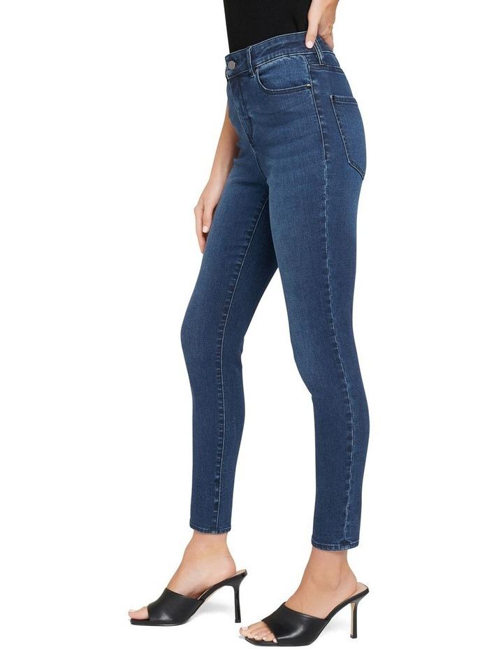 Zoe Mid Rise Ankle Grazer Jean image 2
