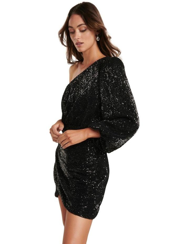 Penelope One Sleeve Sequin Dress image 3