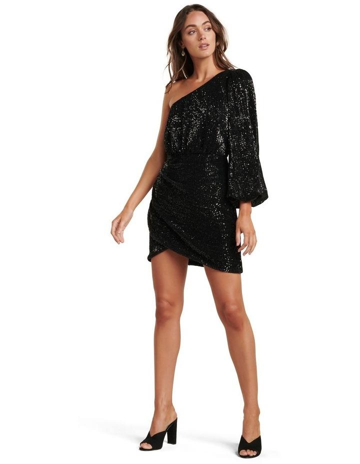 Penelope One Sleeve Sequin Dress image 5